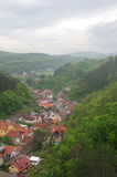 Czech village Stock Image