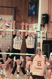 Czech volleyball extraleague Stock Photo