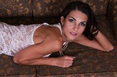 Czech woman Royalty Free Stock Photo