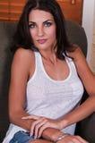 Czech woman Stock Images