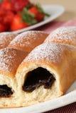 Czech yeast buns Royalty Free Stock Photos