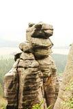 Czecha rockowy miasteczko Obraz Royalty Free