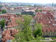 Czechia. Prague. Hradcany. Panorama Royalty Free Stock Image