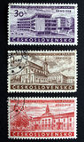 Czechoslovakia stamps stock photos