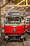 Czechoslovakia tram Stock Images