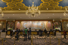 Czek w terenie Wenecki hotel w Las Vegas Zdjęcie Royalty Free