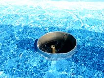 czekać wody fotografia stock