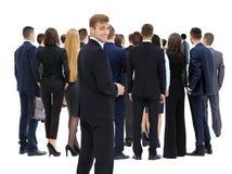 Czekać ich zwrotów ludzi w kolejce Obraz Stock