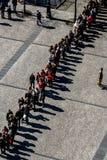 Czekać ludzi Zdjęcie Royalty Free