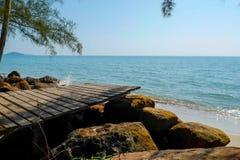 Czekać przy morzem Zdjęcia Stock