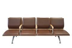 Czekający krzesła Odizolowywającego Fotografia Stock