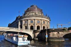 Czekający muzeum w Berlin, Niemcy obrazy royalty free