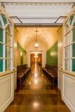 czekanie historyczny terenu hotel Obrazy Royalty Free