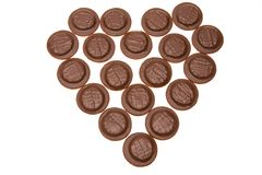 czekoladę ciastek Fotografia Stock
