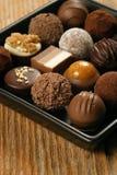 czekolad naczynia porcja Obrazy Royalty Free