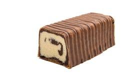 czekolada odizolowywająca rolka obrazy royalty free