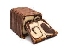 czekolada odizolowywająca rolka zdjęcie royalty free