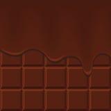 czekolada płynie ilustracji