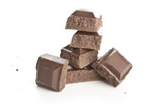 czekolada się dwa Fotografia Stock