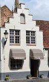 Czekolada sklep w centrum Brugge, Belgia zdjęcie stock