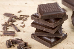 czekolada stos Obraz Royalty Free