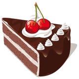 Czekolada tort Obraz Royalty Free