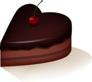 Czekolada tort Fotografia Royalty Free