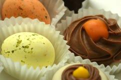 czekoladki fotografia stock