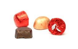 czekoladki Obraz Stock