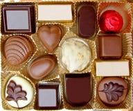czekoladki Zdjęcia Royalty Free