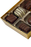 czekoladki Zdjęcie Royalty Free