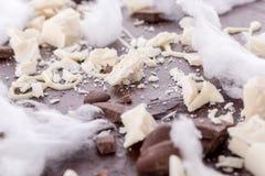 czekoladki ciasta z bliska Fotografia Stock