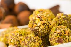 czekoladki ręcznie Fotografia Stock