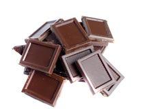 czekoladki tło Obrazy Stock
