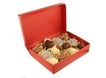 czekoladki zanurzyć truskawki Obraz Stock