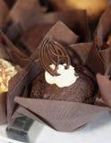 czekoladowa bun Zdjęcie Stock