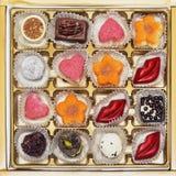 Czekoladowa candie kolekcja Obrazy Stock