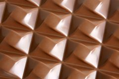 czekoladowa cegiełka Obrazy Stock