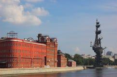 czekoladowa fabryczna czerwony Październik Zdjęcia Royalty Free