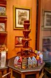 Czekoladowa fontanna zdjęcie royalty free