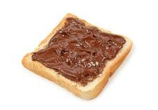 czekoladowa kanapka Obrazy Royalty Free