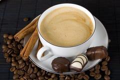 czekoladowa kawa Obraz Royalty Free