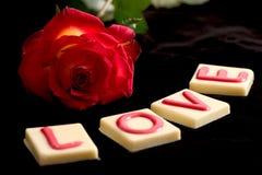 czekoladowa miłości Obrazy Royalty Free
