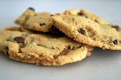 czekoladowa migdałowa cookie mąki Fotografia Stock