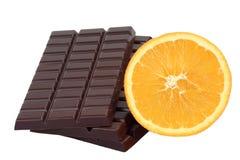 czekoladowa pomarańcze obrazy royalty free