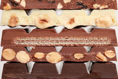 czekoladowa sterta Obraz Royalty Free