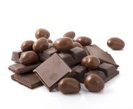 czekoladowa sterta Zdjęcie Royalty Free