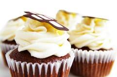 czekoladowa tort filiżanka Zdjęcia Royalty Free