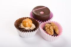 czekoladowa trufla słodycze Zdjęcia Stock