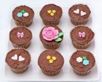 czekoladowe babeczki Zdjęcie Royalty Free